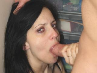 Very hot seeing this pretty girl sucking that nice, thick cock.  Great pic.