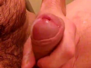 I love your fat and swollen cock head and your large peehole