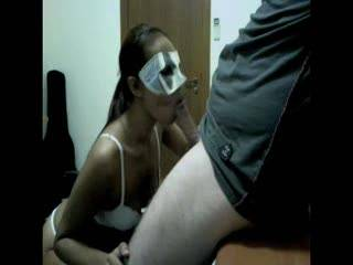 a bj in the office after we got horny from some cam chat.......part 2