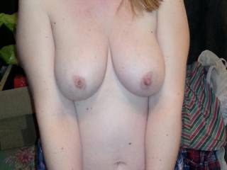 Very much so....have her lean over and hang those pretty tits for use