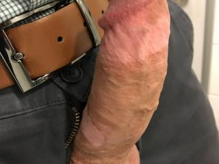 Got hard at work. I think my dick needs some attention ;)