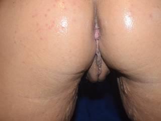 A little closer look at my shinny ass.