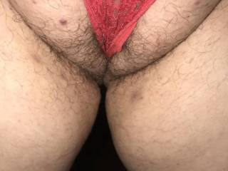 Kiki showing me her big hairy pussy lips. Do you think I should finally let her get her pussy and asshole waxed? I think she misses the pain of having her naughty holes waxed! I knows she likes having a strange woman between her legs