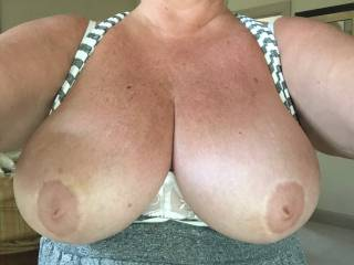 Don't you want to bury your face in my tits?