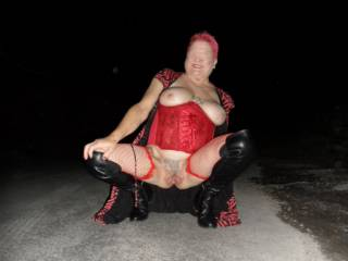 hi all another night drive and another flashing session dirty comments welcome mature couple