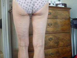 My Wifes sexy undie Ass
