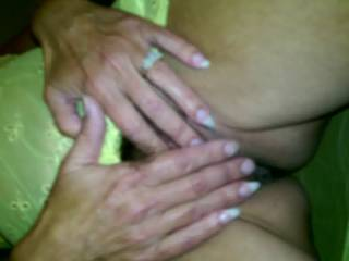 I'd love to be on my knees pleasuring that gorgeous pussy of yours with my mouth and fingers!