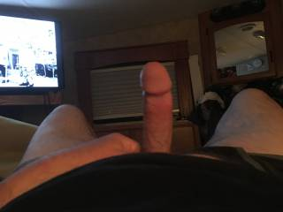 Nice hard dick just waiting for you.