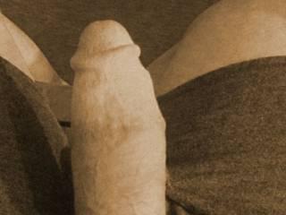 My Dick shot, its ready to pound!!!