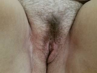 Wife's pussy first thing in the morning