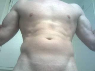 Sweetie, I am thinking I like that fine body! xoxo Domino