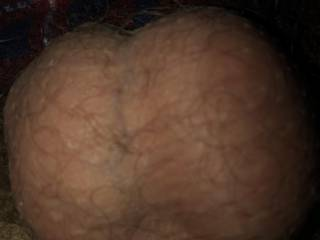 My balls filled to the top with cum, waiting to burst!