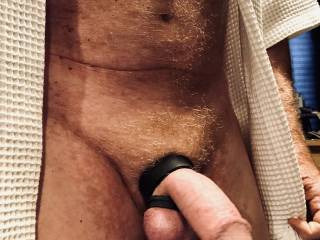Getting ready for a masturbating session with a friend.