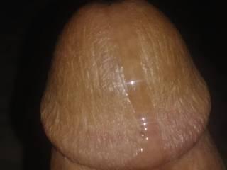 Lots of pre cum!