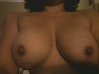 my beautiful wife with nice rack