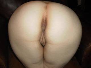 OMG!!! It's perfect!! Love to bury my face tongue and cock in there!! Wanna Lick and fuck that sweet ass while your hubby does the same to Mrs N!!!