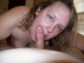 Lupo\'s wife loves cock!  She is an expert cocksucker.  Who wants to share her with me and get their cock sucked by her next?