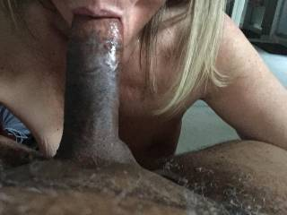 Yes I like your playmate's hot cock.  I know you have fun sucking his cock....I would have fun sucking it too.  MILF K