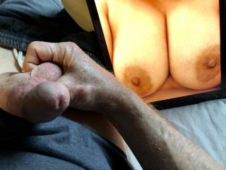 Gorgeous breasts and such suckable nipples.