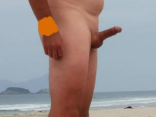 enjoying the beach nude .what to do now??