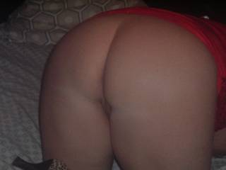 I would love to kiss all over your sweet sexy ass then ride u nice and slow to stretch your pussy out so I can ride u nice hard and long