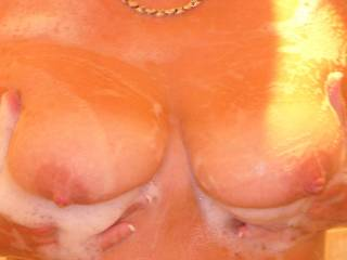 Let me play for you!  Love your perfect tits and deliciously hard nipples!