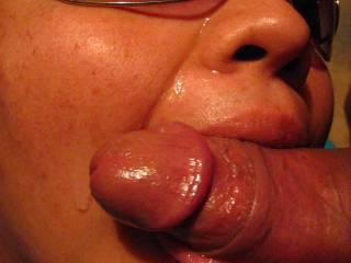 Just Sucking On His Cock
