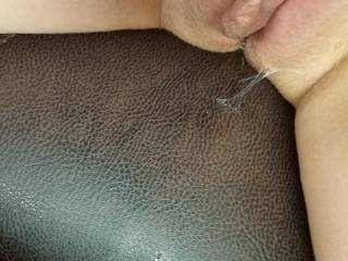 I got a little wet and horny at work.