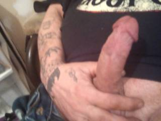 just sitting here watching these Zoig videos this cock got all swollen and hard