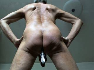 Love getting naked and playing some anal games and seeing how deep the toy will go !