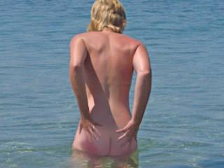 Another pic from the beach, this time the rear view, hope you like it.