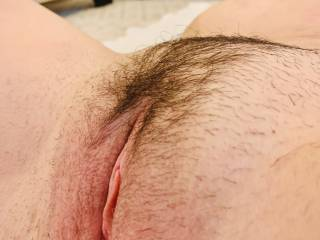 My wife's perfect wet and worm pussy ready to be licked and absorb more but then I can give.