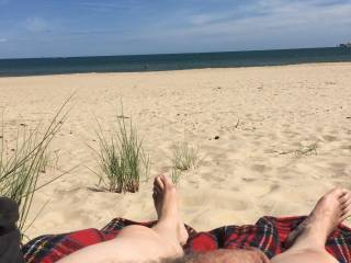 First time naked at Studland nudist beach in Dorset any volunteers to meet me in the dunes?
