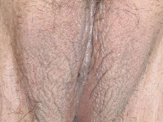 My cock is throbbing looking at this crystal clear picture of your naked pussy. I'd watch you and my GF for as long you two could play!