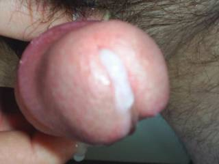 My cum leaking