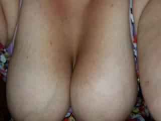 Her big saggy tits
