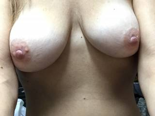 Yessssssssssssss wanting to suck em long and hard feeling those fabulous nipples swell big and hard then blow a huge load of warm cum all over your freshly sucked tits!