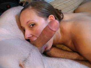 mmm keep at it babe get his balls nice and juicy i will eat his tip lets make him cum for us -mrs mnt