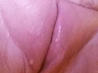 lets slip my cock in and test just how wet ;)