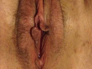 looks so ready I like to lick and then have my man fuck the hell out of it as I play with my pussy