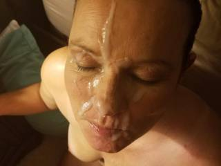 Here is a little facial.