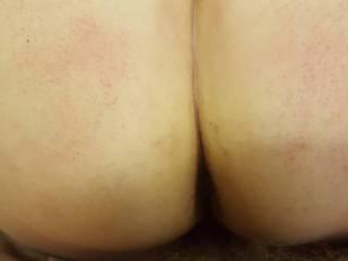 Closer up of an amazing ass