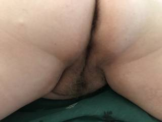 Wife's pussy and ass