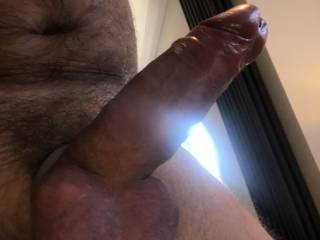 Home alone having a play, who would like to take my thick cock in anyway you see fit? Message me with your replies xx