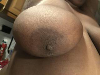 Me and my man playing around with the camera. Who would like to shoot some cum on these pretty titties. And who would like to suck on them? Come men tell me what you would like to do to them!! You never know maybe one of you can play around if....