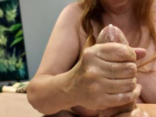"""What a way to celebrate Thanksgiving! Isn\'t this a great way to """"top"""" off your feast? Now, who wants to help this cum loving married woman to have more of what she needs?"""