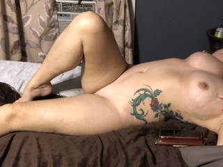 What do you think of my smoking hot wife?