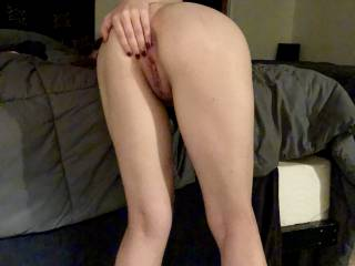 long legs, tight ass, happy girl enjoying herself...I\'m happy!