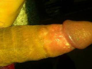 Any of you sexy ladies want to be the first to suck on this hard cock?