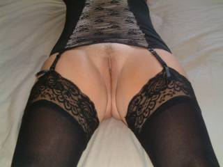 Mmm that's so nice...such a turn on seeing a lovely lady in her lingerie X